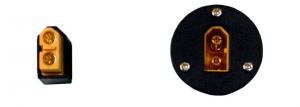 Wyłącznik wysoko-prądowy XT60 - łącznik - gniazdo - 60A xt-60
