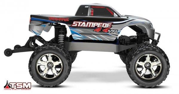 Traxxas Stampede 1:10 VXL 4WD TQi TSM RTR