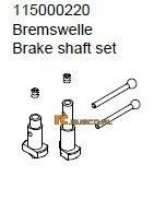 Brake shaft set - Ansmann Virus