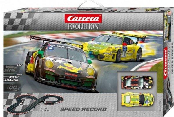 Tor Carrera Evo Speed Record