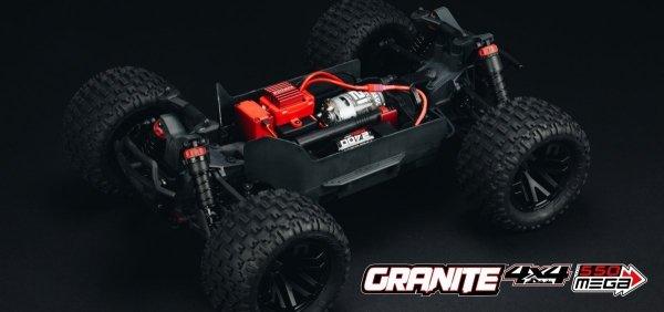 Arrma Granite Mega 4x4 1:10 4WD RTR zielony/czarny lub czerwono/czarny