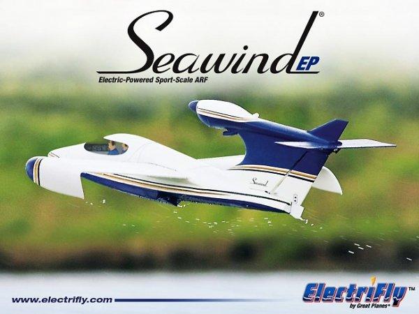 ELECTRIFLY - SEAWIND SEAPLANE EP ARF