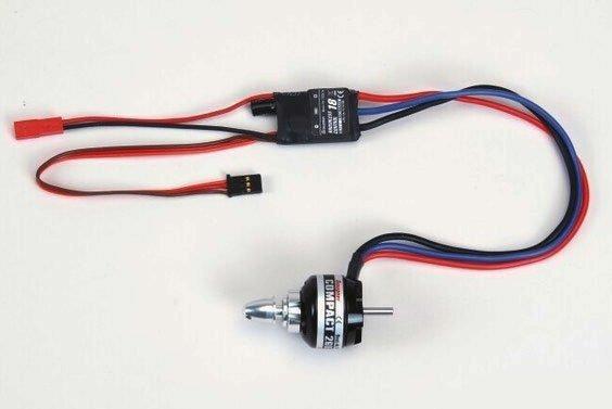Silnik GRAUPNER COMPACT 260 7,4V + regulator 18A