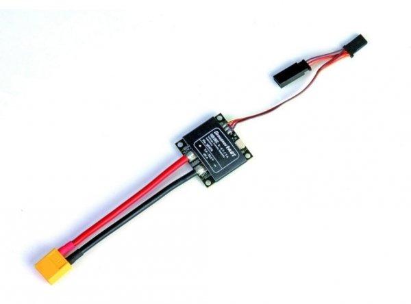 Czujnik natężenia i napięcia z SBEC GRAUPNER HoTT Strom-Spannungssensor