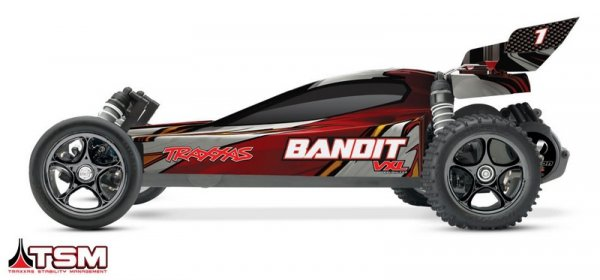 Traxxas Bandit 1:10 VXL TQi BlueTooth Ready TSM RTF