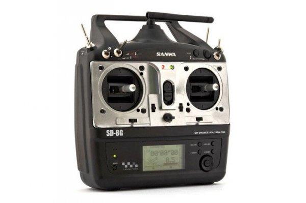 Aparatura SANWA SD-6G 2,4 GHz + RX-71E