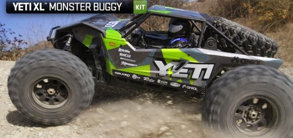 Model RC Axial Yeti XL Monster Buggy 1:8 KIT