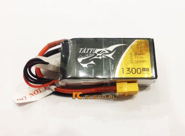 Akumulator Tattu 1300mAh 11.1V 45C 3S1P