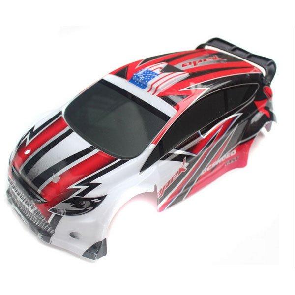 Czerwona karoseria dla samochodu WLToys
