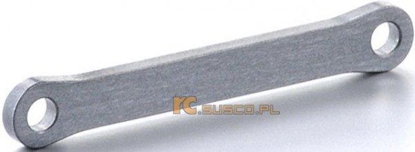 Przednia aluminiowa klamra sworznia.
