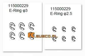 E-ring set - Ansmann Virus