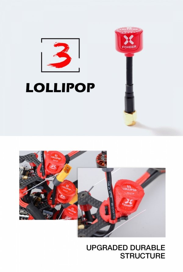 Antena FPV Foxeer Lollipop 5.8GHz