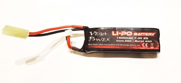 1500mAh 25C 7.4V LiPo Mini Tamiya do HIMOTO HSP MAVERICK 1:18 1:16
