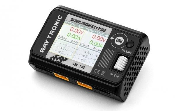 Ładowarka RAYTRONIC C50 DC dual balanced charger 500W