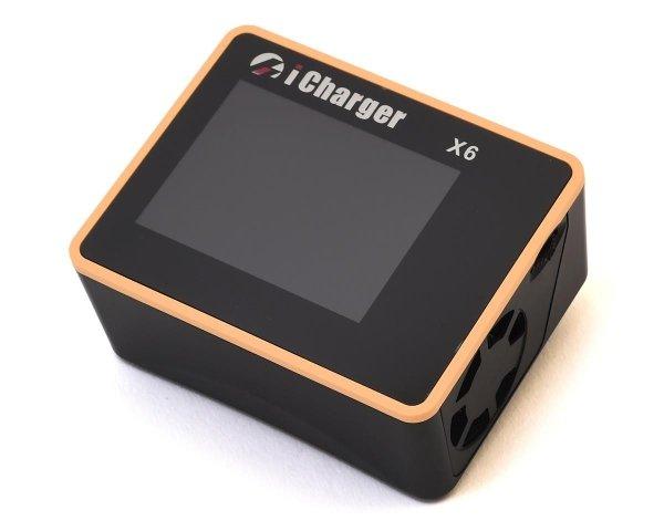 Zaawansowana Ładowarka Procesorowa iCharger X6 800W 30A LiPo 6S