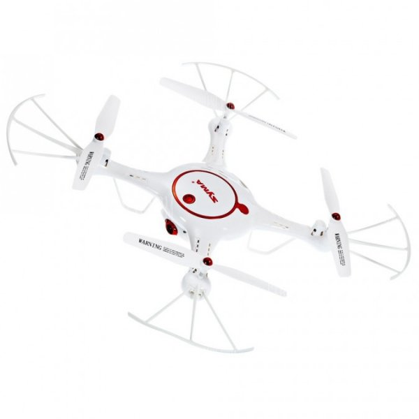 Syma X5UC - biały - (kamera 1MP, 2.4GHz, funkcja zawisu, zasięg do 70m, planowanie trasy)