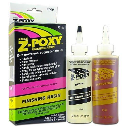 ZAP - Z-POXY - Żywica epoksydowa wykończeniowa 354 ml. 20-30 min