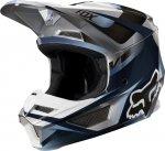 KASK FOX V-1 MOTIF BLUE/GREY
