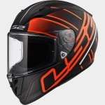 KASK LS2 FF323 ARROW R ION MATT BLACK-RED