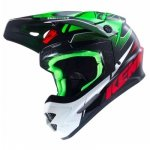 KENNY KASK OFF-ROAD TRACK GREEN/BLACK/RED