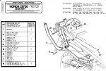 Kappa K2320 Stelaż centr. Honda Cb 750 (92-00)