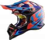 KASK LS2 MX470 SUBVERTER NIMBLE BL/BLUE ORANGE