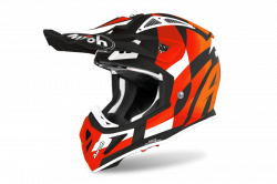 AIROH KASK OFF-ROAD AVIATOR ACE TRICK ORANGE MATT