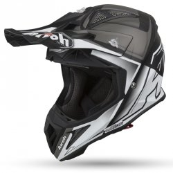 KASK OFF-ROAD AIROH AVIATOR 2.2 CHECK WHITE MATT