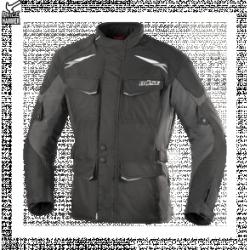 BUSE  Kurtka motocyklowa Lago II czarno-szara