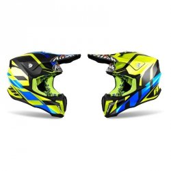 KASK OFF-ROAD AIROH TWIST GREAT YELLOW GLOSS