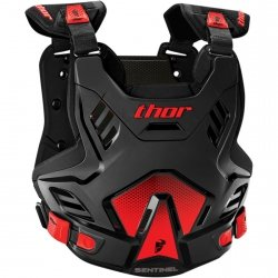 THOR BUZER YOUTH SENTINEL GP S16Y BLACK/RED =$