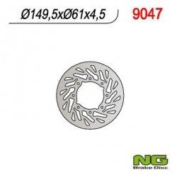 NG9047 TARCZA HAMULCOWA POLARIS 400/500 '01-'02 (TURBINA)