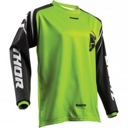 THOR BLUZA YOUTH SECTOR ZONES OFFROAD LIME =$