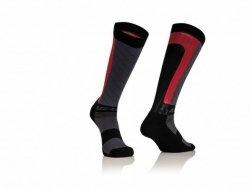 Acerbis Skarpety MX Compression czarno - czerwony