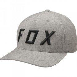 FOX CZAPKA Z DASZK SONIC MOTH FLEXFIT HEATHER GREY