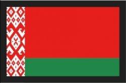 REBELHORN ODZNAKA NA RZEP FLAGA BIAŁORUSI RED/GREN