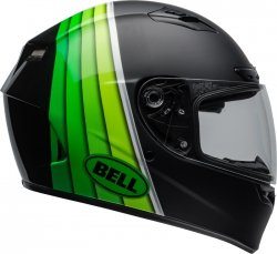 BELL KASK QUALIFIER DLX MIPS ILLUSION BLACK/GREEN