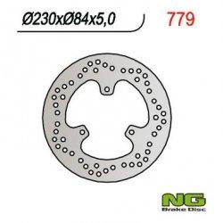 NG779 TARCZA HAMULCOWA YAMAHA MAJESTY 250 ABS/ DX 98-99 (230x84x5)