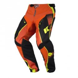 KENNY SPODNIE OFF-ROAD TRACK KID BLACK/ORANGE