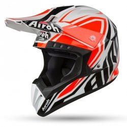 AIROH KASK OFF-ROAD SWITCH IMPACT ORANGE GLOSS