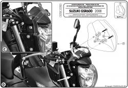 GIVI A170A mocowanie szyby