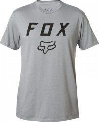 FOX T-SHIRT LEGACY MOTH HEATHER GRAPHITE