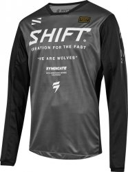 SHIFT  BLUZA JUNIOR WHIT3 MUSE SMOKE