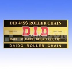 Łańcuch napędowy DID 415 S/130 bezoringowy 2150411