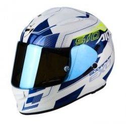 SCORPION KASK EXO-510 AIR GALVA PEARL WH-BLUE