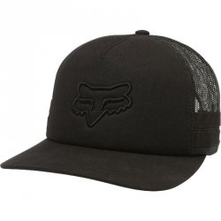FOX CZAPKA Z DASZKIEM LADY HEAD TRIK TRUCKER BLACK