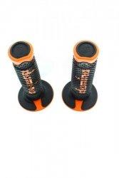 Manetki Domino czarno - pomarańczowe model 2012