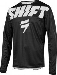 SHIFT  BLUZA JUNIOR WHIT3 YORK BLACK