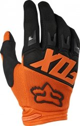 RĘKAWICE OFF-ROAD FOX JUNIOR DIRTPAW RACE ORANGE