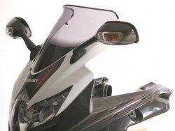 Szyba MRA SUZUKI GSX-R 600 / GSX-R 750 2008-2010 forma - S0 (bezbarwna)